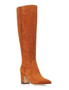 Women's Hai Suede Tall Boots   100 Percents Exclusive by Sam Edelman