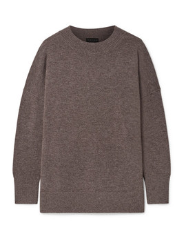 The Clementine Merino Wool And Cashmere Blend Sweater by Hatch