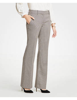 The Madison Trouser In Check by Ann Taylor
