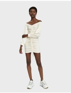 Ava Shirred Mini Dress by Farrow