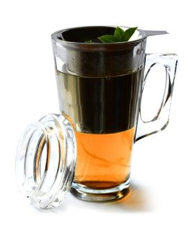Asobu Tea Mug With Stainless Steel Infuser by Asobu
