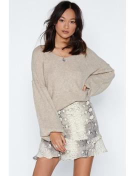 Warm Up To Me Balloon Sleeve Sweater by Nasty Gal