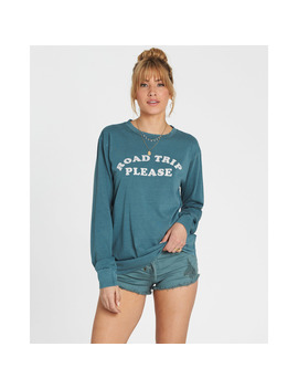 Road Trip Please Long Sleeve Tee by Billabong