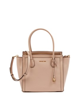Mercer Pebbled Leather Tote by Michael Michael Kors