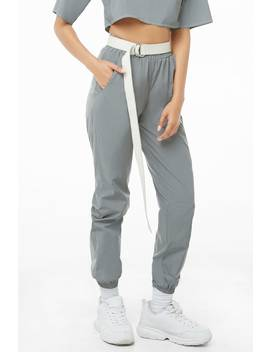 Reflective Wind Pants by Forever 21