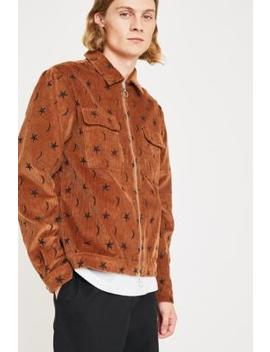 Soulland Percy Tan Corduroy Jacket by Soulland