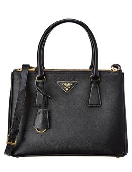 Prada Small Galleria Saffiano Leather Tote by Prada