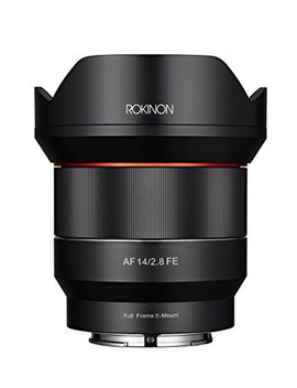 Rokinon 14mm F2.8 Full Frame Auto Focus Lens For Sony E Mount, Black (Io14 Af E) by Rokinon