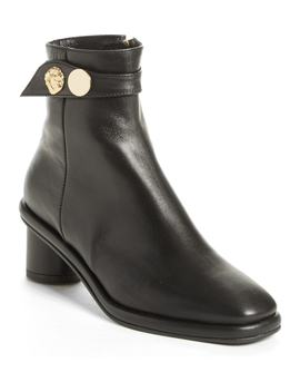 Gold Hardware Ankle Boot by Reike Nen