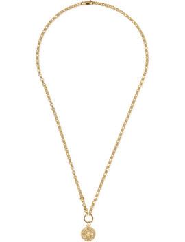 Karma 18 Karat Gold Diamond Pendant by Foundrae