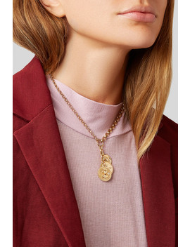 Karma, Strength And Dream 18 Karat Gold Diamond Necklace by Foundrae