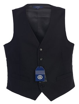 Gioberti Mens 5 Button Formal Suit Vest by Gioberti
