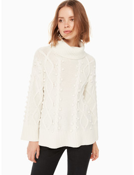 Chunky Cable Sweater by Kate Spade