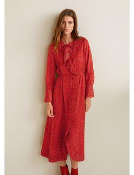 Sukienka Z Wężowym Wzorem by Mango