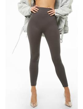High Waist Seamless Leggings by Forever 21