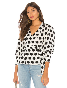 Unending Top In Ivory Spot by C/Meo
