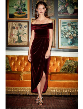 Edison Velvet Dress by Bhldn