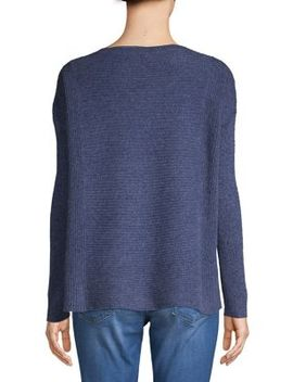 Boxy Cashmere Top by Lord & Taylor
