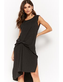 Marled Gathered Tunic by Forever 21