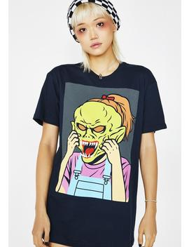 Goosebumps It Won't Come Off Tee by Creepy Co