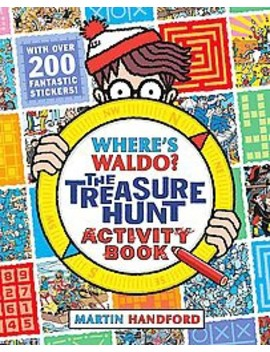 Where's Waldo? : The Treasure Hunt Activity Book (Paperback) (Martin Handford) by Target