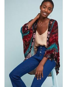 Winchester Floral Kimono by Anthropologie