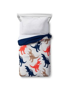 Jurassic Jams Toddler Comforter   Tan   Pillowfort™ by Pillowfort™