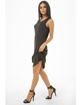 Sleeveless Twist Hem Dress by Forever 21