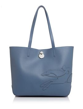 Shop It Medium Leather Tote by Longchamp