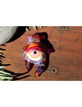 Heady Glass Eye Pendant by Etsy