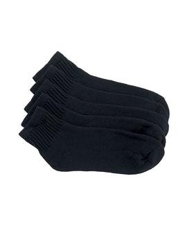 Womens Black Quarter Sock 5 Pack by Read Reviews