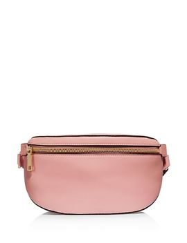 X Selena Gomez Leather Belt Bag by Coach