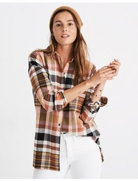 Classic Ex Boyfriend Shirt In Seconda Plaid by Madewell