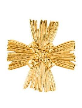 Yves Saint Laurent Maltese Cross Convertible Brooch by Yves Saint Laurent