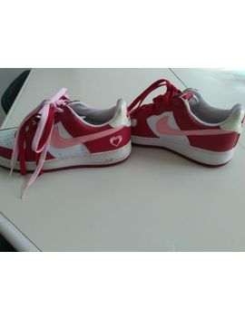 Nike Air Force 1 Low Valentine Valentine's Day Rare White Pink Red Size 9 Womans by Nike