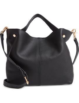 Small Niki Leather Tote by Vince Camuto
