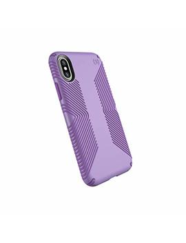 Speck Products Presidio Grip Case For I Phone Xs/I Phone X, Aster Purple/Heliotrope Purple by Speck