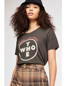 The Who Live Tee by Free People