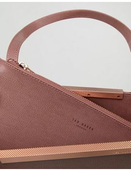 Ted Baker Bow Embossed Leather Shopper by Ted Baker