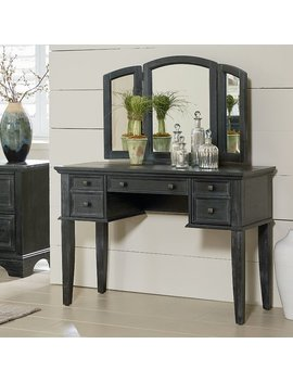 August Grove Hayter Vanity With Mirror by August Grove