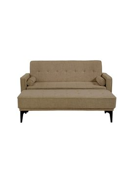 Alcott Hill Back Forty Convertible Loveseat With Ottoman by Alcott Hill