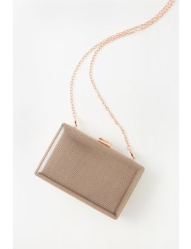 Luxe Box Clutch by Cotton On