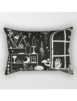 Moon Altar Rectangular Pillow by