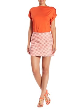 Rico Patterned Skirt by Trina Turk