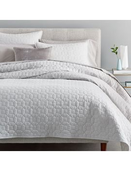 Flannel Solid Coverlet + Shams by West Elm