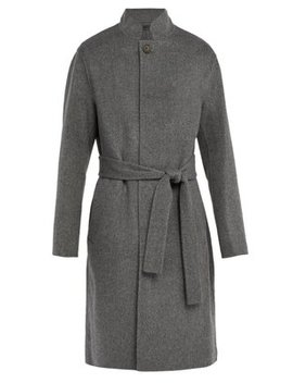 Belted Wool Blend Coat by Acne Studios