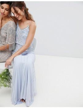 Amelia Rose   Vestito Lungo 2 In 1 Con Decorazioni by Asos