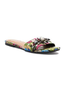 Candie's® Rutabaga Women's Tapestry Slide Sandals by Candie's