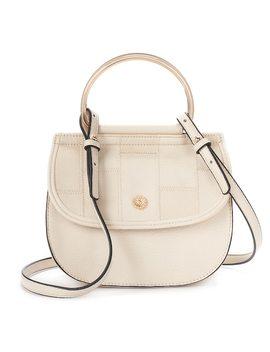 Lc Lauren Conrad Delice Patchwork Flap Convertible Crossbody Bag by Kohl's