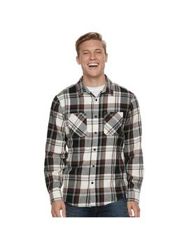 Men's Urban Pipeline™ Flannel Button Down Shirt by Kohl's